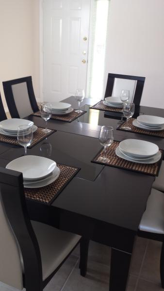 Dining table for 8-10