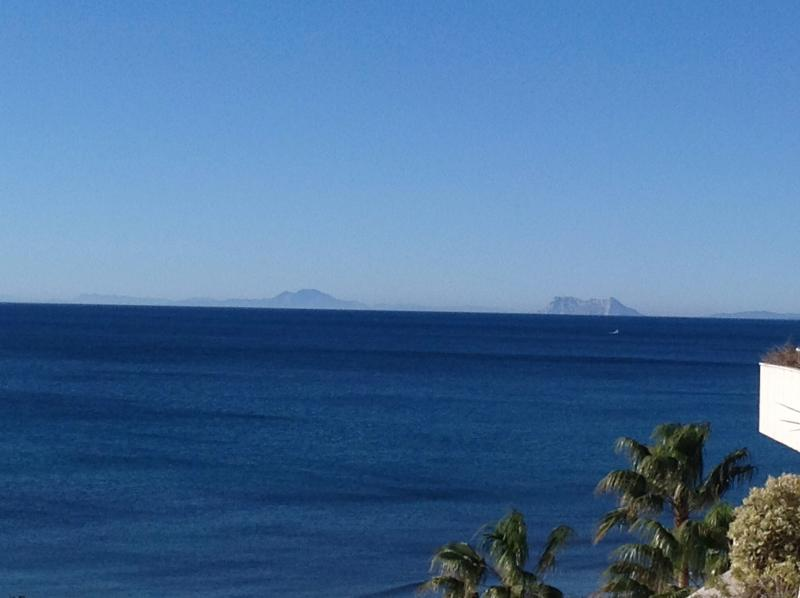 Views to Gibraltar and North Africa
