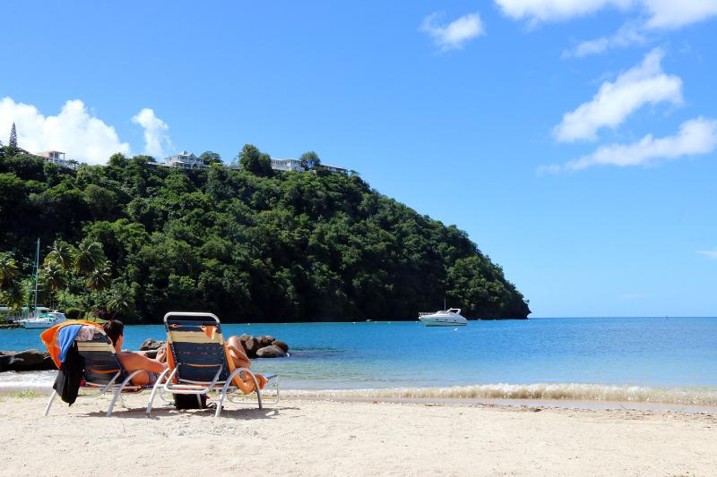 Just Walk Down from Your Villa to the Quaint But Beautiful Beach...