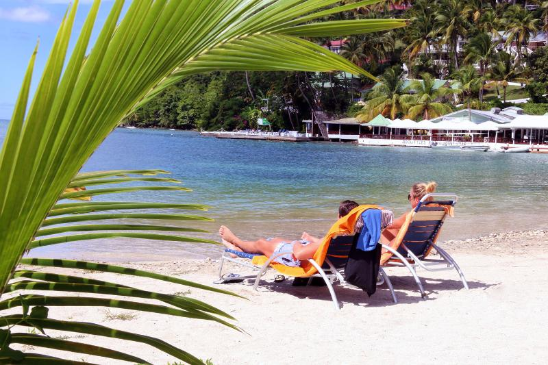 Beach Chairs Are Free for Our Guests...