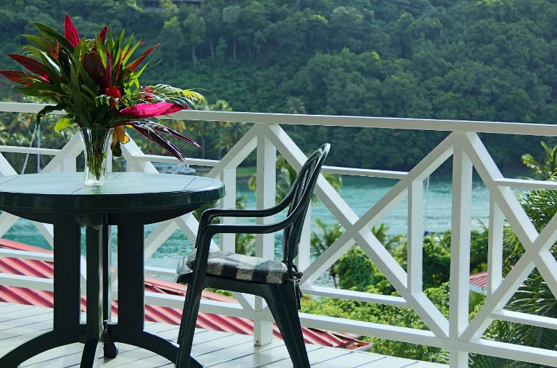 Or Enjoy a Romantic Meal or Read a Book on the Balcony...