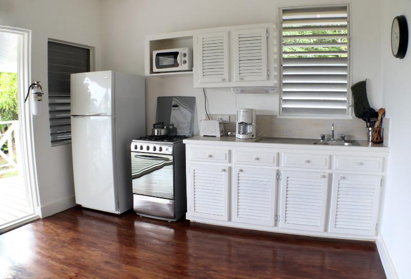 A Modern, Fully-Equipped Kitchen With Everything You Need..