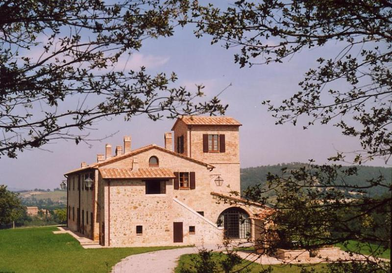 La villa et sa magnifique vue panoramique