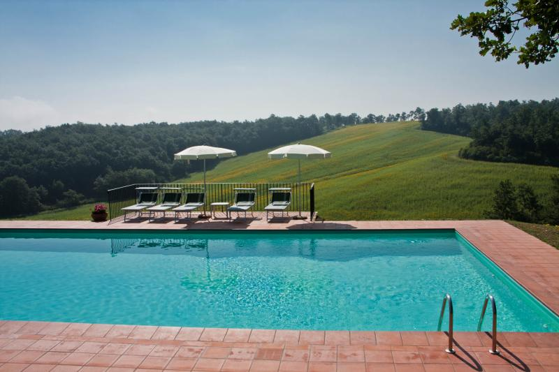 Swimming-pool m14 X m7 in beautiful panoramic position