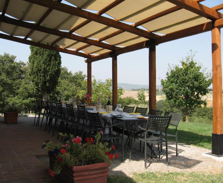 Porch with panoramic view for lunche or dinner alltogether