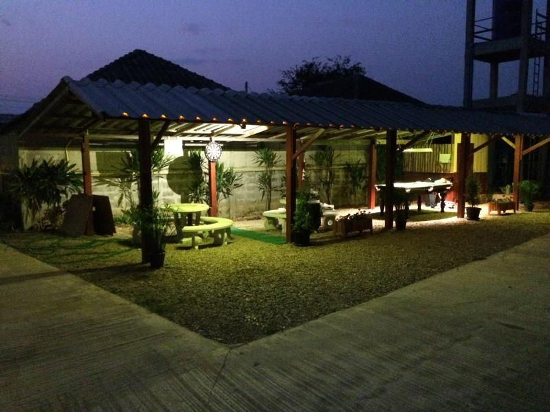 Night view from recreation ario of S-Homestay