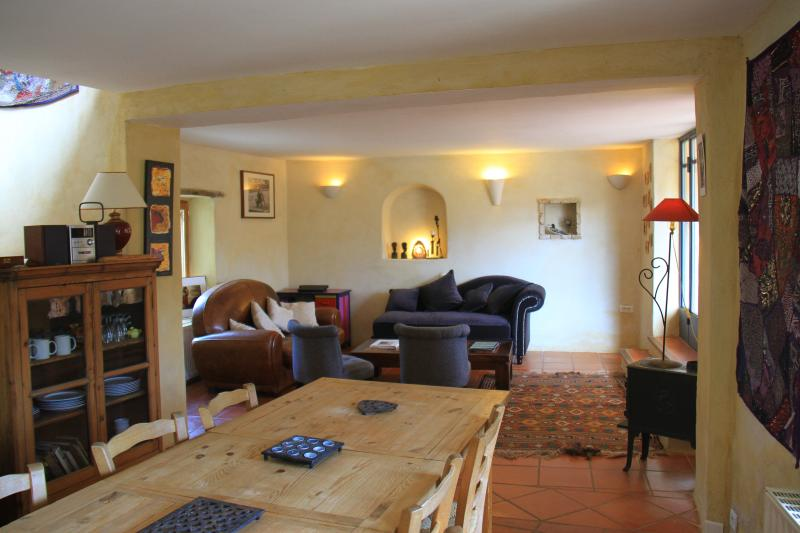 La Salamandre Bleue, vacation rental in Grignan