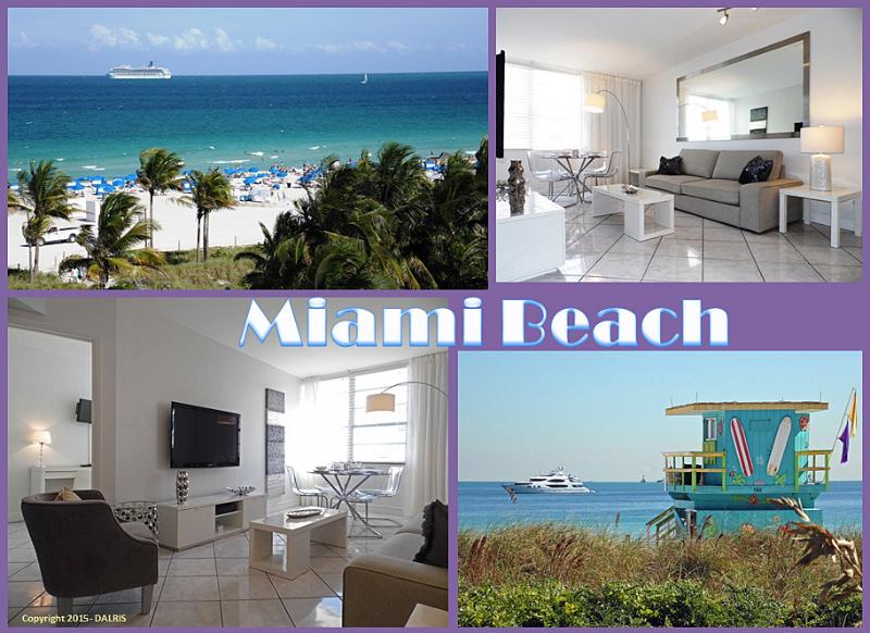 SOUTH BEACH - OCEAN VIEW 1 BEDROOM W/PARKING, alquiler de vacaciones en Miami Beach