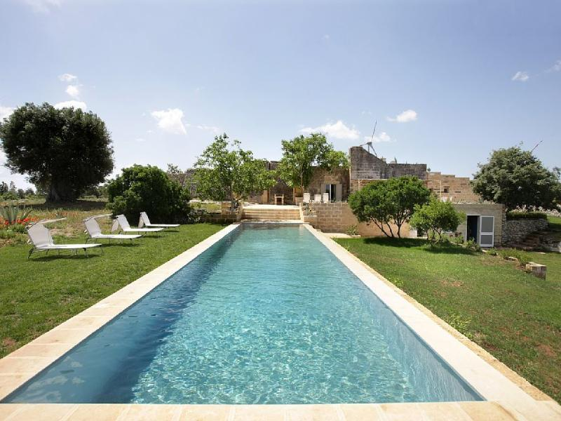 Masseria Fondo Paolo - view from the pool