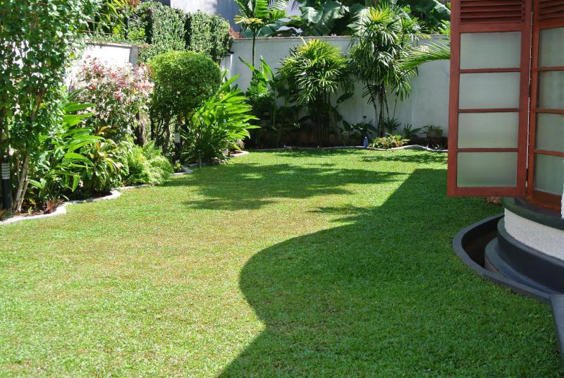 Nosso jardim frontal