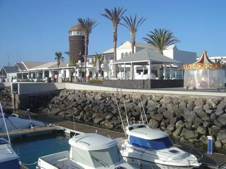 Harbour in Caleta