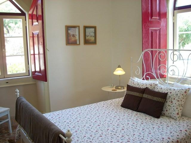 Enjoy a good night's sleep in the apartment's comfortable and large double bed