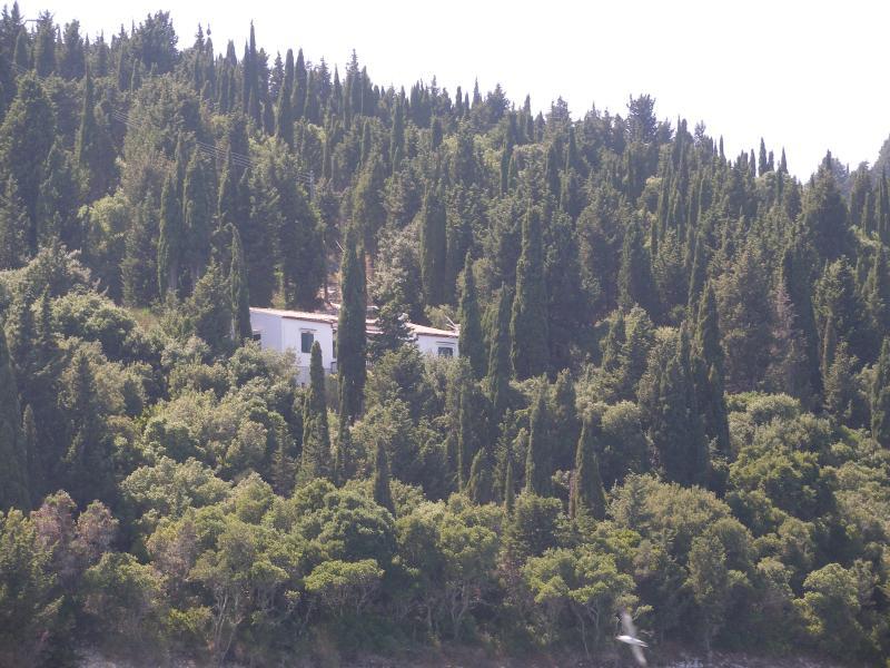 Unique sea side villa in Paxos, holiday rental in Platanos
