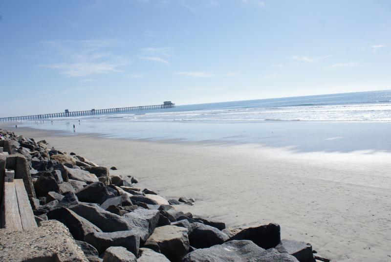 Wunderschönen Oceanside Strand.