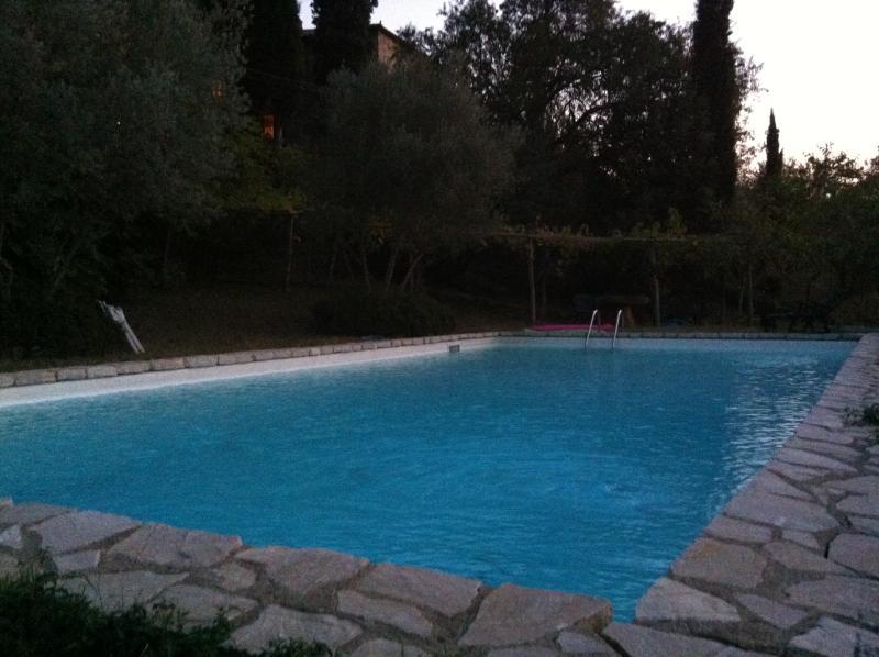 piscine à partager avec l'invité.