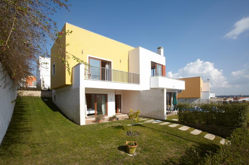 Large modern luxury villa private garden elevated position, pool and easy access
