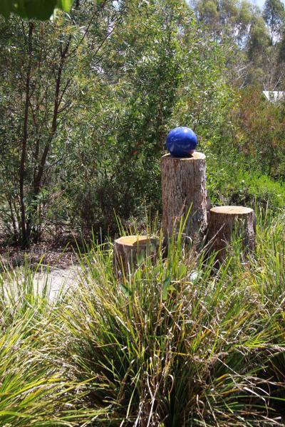 hermoso jardín circundante Candlebark Retreat