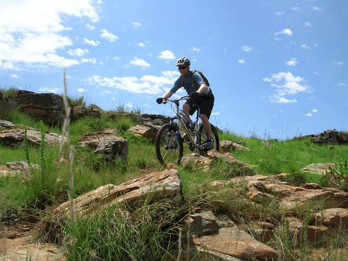 Various mountain biking trails on the estate.