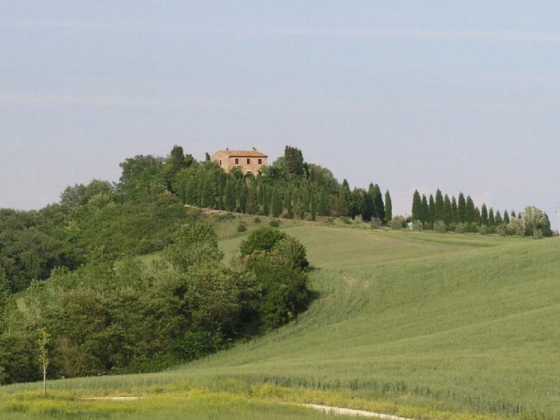 Private Villa with a wonderful view and private pool, close to Siena, location de vacances à Casanova Pansarine