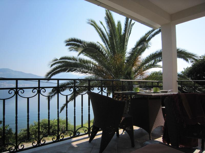 Spacious villa with a sea view terrace, vacation rental in Radovici