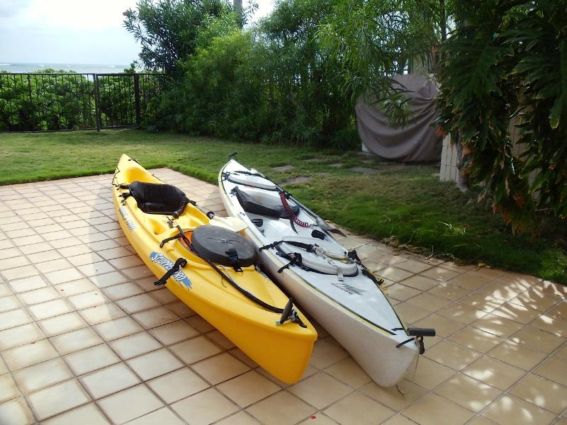 Kayaks for your use!
