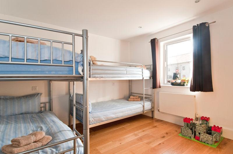 Family room - With 4 x single beds in two separate bunk bed configurations