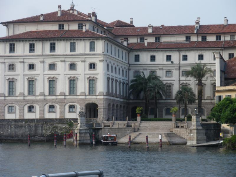 Borromean Palace on Isola Bella