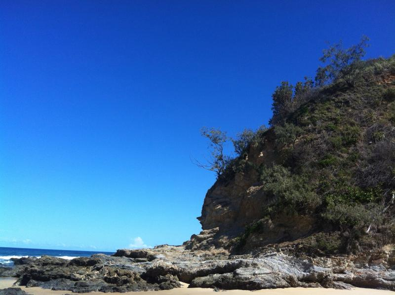 North Valla Beach, a short walk from the back of the property.