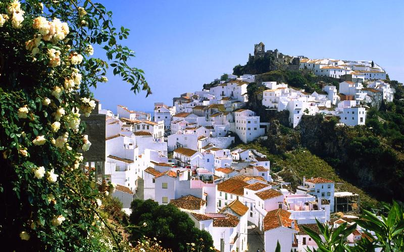 Casares (Andalusian white village) 10 min drive