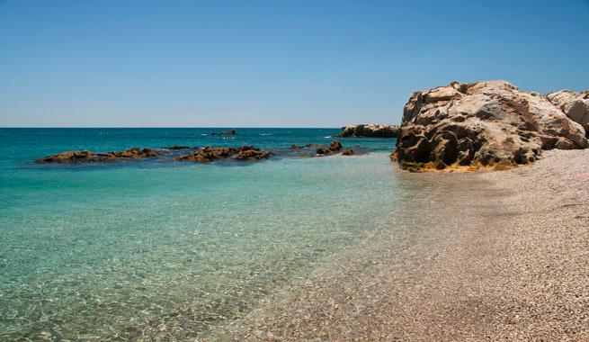 Manilva Beach (3 min drive)