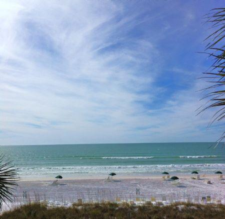 Our Private Piece of Crescent Beach- Siesta Key!