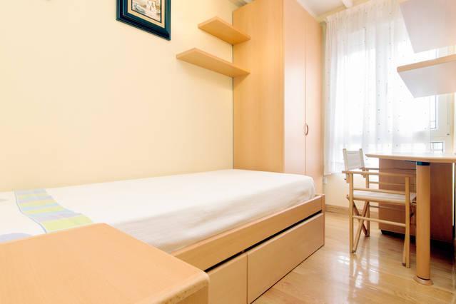 Apartamento El Casino. Habitación individual