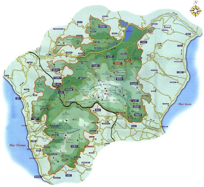Pollino district