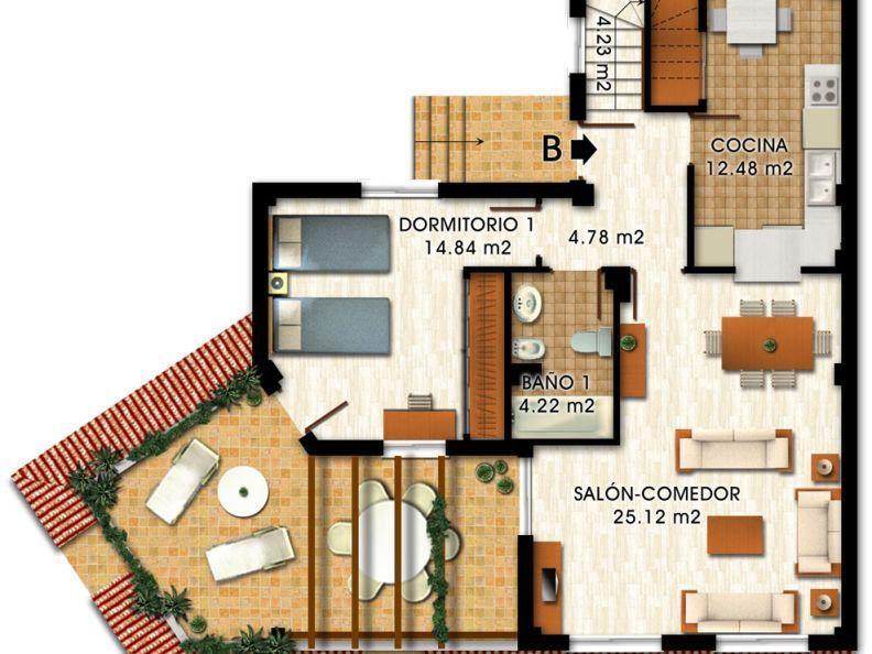 home plan down floor