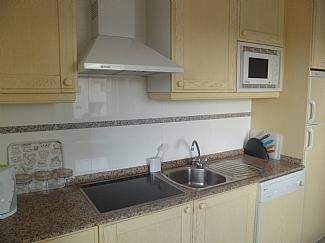 Kitchen area in Casa Kirbs 1