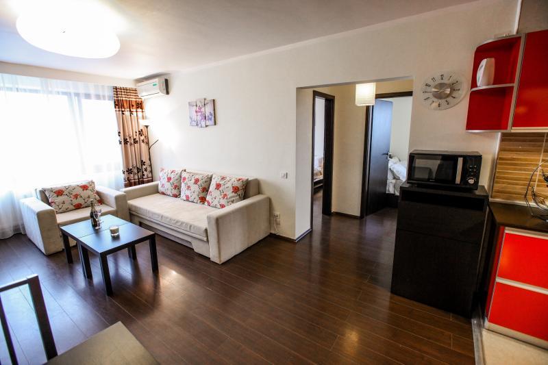 Sunshine Apartment - Cismigiu Gardens - Living room