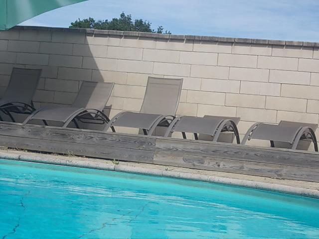 Sun terrace next to the pool (south west facing)