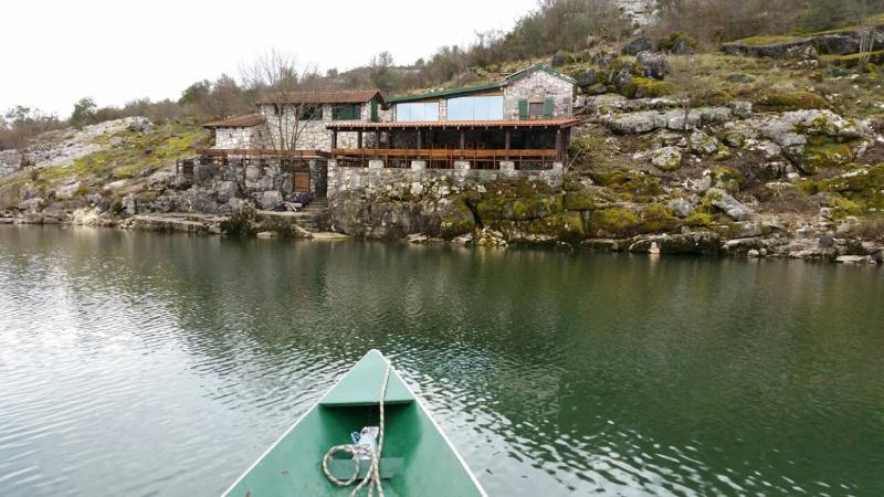local restaurant Skadar lake