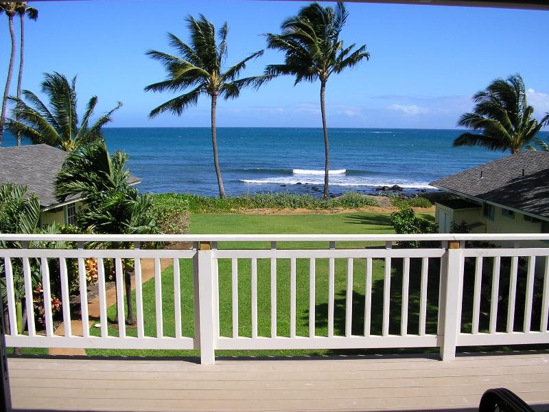 Ocean view from upstairs