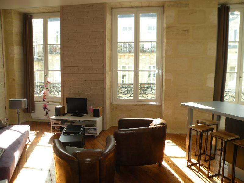 3 grandes fenêtres coté sud