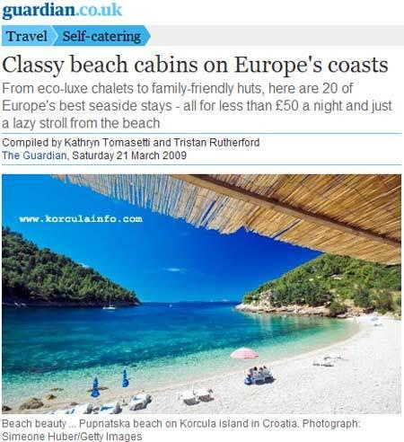 pupnatska luka - beach on kor?ula island
