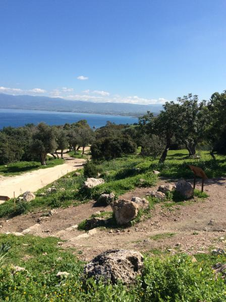 One of the many nature trails in the Akamas National Park. An area of outstanding natural beauty