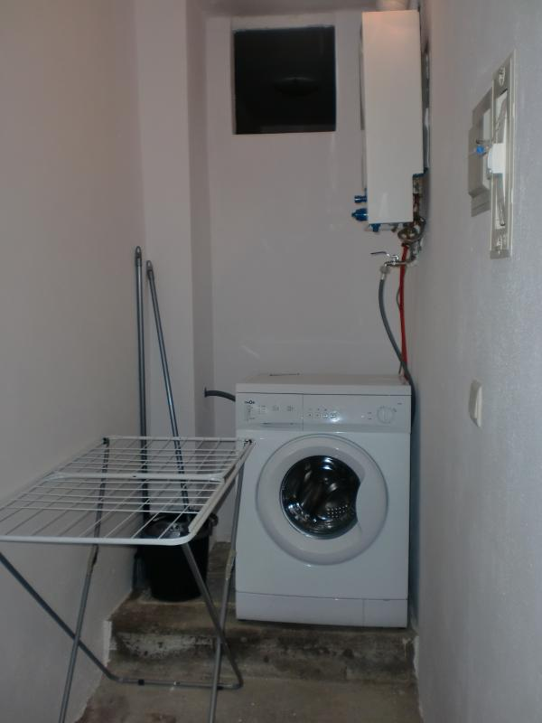 Keep your laundry in the laundry room