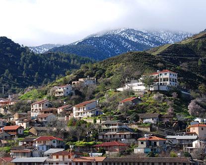 O estúdio é bem localizado e de fácil acesso para as montanhas e belas aldeias de Chipre!