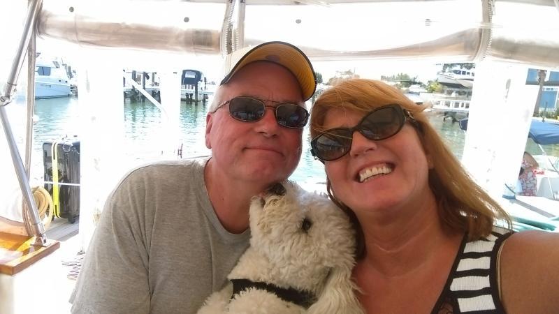 Guests Carl & Jodi with Skipper too!
