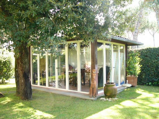 Veranda in the garden