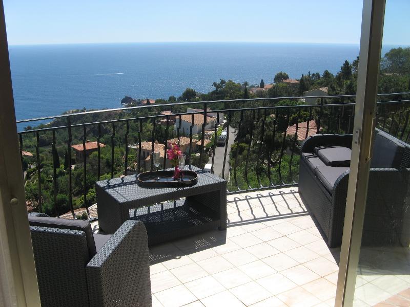 Terrasse vue mer-See view tarrasse