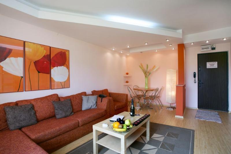 Twin 2 Apartment - Cismigiu Gardens - Living room