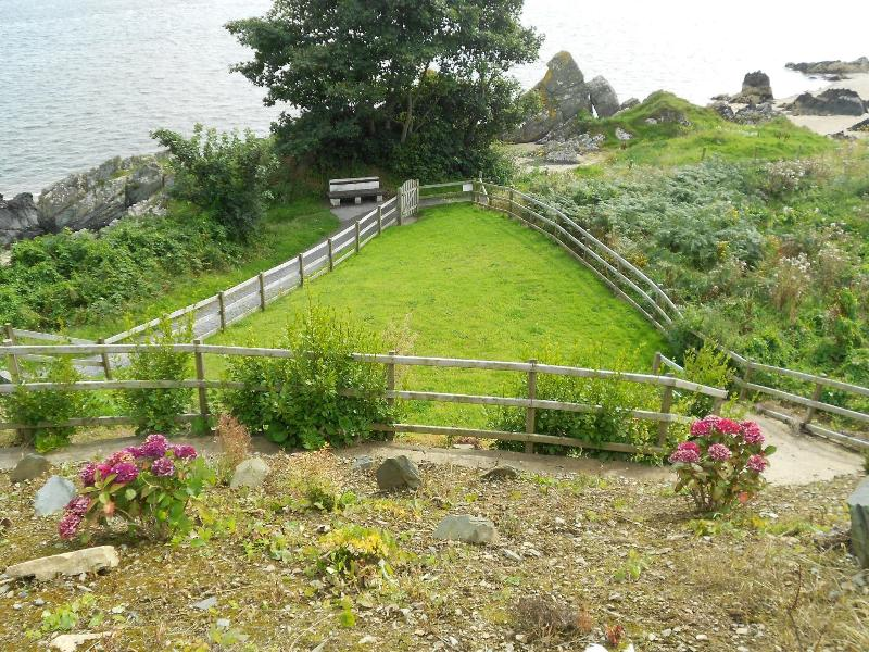 Front garden leading to shore path
