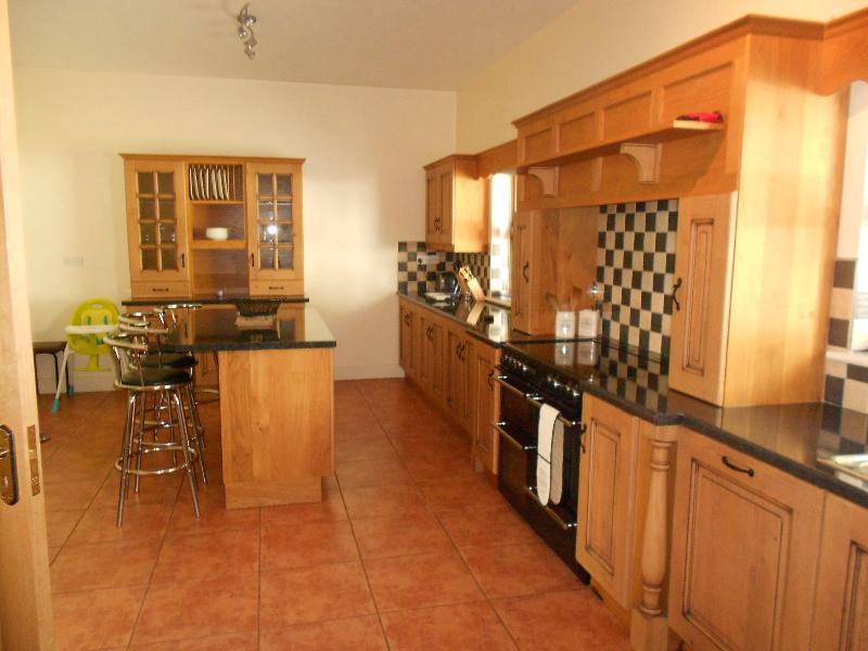 Bespoke oak kitchen